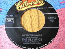 "THE OLYMPICS - WESTERN MOVIES / THE FENDERMEN - MULE SKINNER BLUES  7"" VINYL"