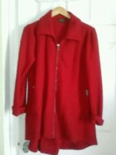 For Cynthia 70% Red Wool Coat  NWT MSRP $120