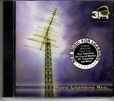 (DH27) Music Licensing Reel, 18 tracks various artists - sealed DJ CD