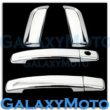 Triple Chrome plated 4 Door Handle w/o PSG KH Cover for 05-12 Nissan PATHFINDER