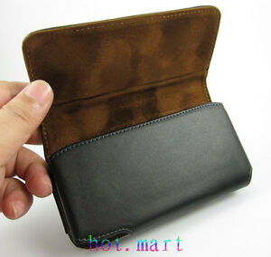 for Apple iPhone 11 XS 8 7 6S Case Genuine Leather Pouch Belt Clip Case Holster