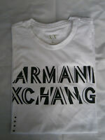 New With Tags A|X ARMANI EXCHANGE Tee T Shirt Mens Muscle Slim Fit Size M And L