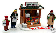 Dept. 56 City Newsstand S/4 Retired 1994 Christmas in the City 59714 New in Box