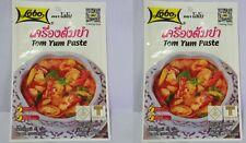 Tom Yum Paste  Lobo Thai Soup Shrimp Prawn Tomyum Goong 30g x 2 (Free Shipping)