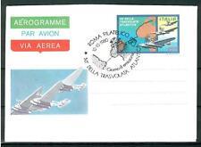 ITALIA REP. - Aerogrammi - 1980 - TRASVOLATA ATLANTICA con ann. speciale - (A)
