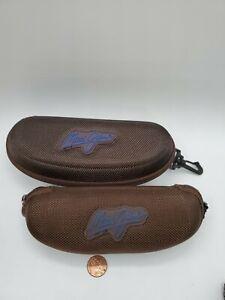2 lot Maui Jim Sunglasses Cases with Belt Clip. 2 sizes big/small.