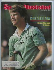 Tom Watson Pro PGA Golfer Autographed 8x10 Sports Illustrated Cover PSA COA