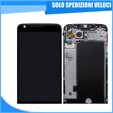 LCD SCHERMO DISPLAY TOUCH SCREEN + FRAME LG OPTIMUS G5 H850 H840 H830 H820 NERO