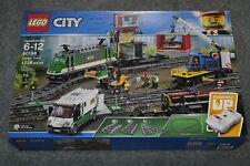 New in Sealed Box! Lego 60198 City Cargo Train Set