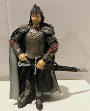 "Lord of the Rings 6"" King Aragorn Marvel Nlp Lotr Action Figure 2003 D21"