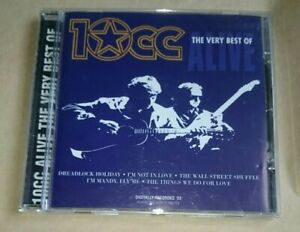 10CC Alive-The Very Best Of CD Album Greatest Hits Essential Collection RARE