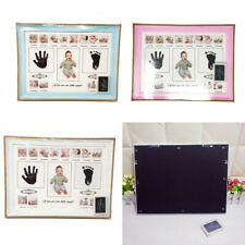 New ListingUs Baby Photo Handprint Footprint Milestone Moments First Year Keepsake Frame
