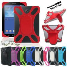 Silicone Soft Back Stand Shockproof Cover Case For Samsung Galaxy Tab Tablet