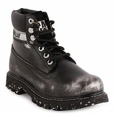 Women's Caterpillar Work Boot Colorado Silver Alias / Black Leather P307009
