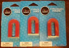 """Lot of 3 ~ 2"""" Alnico Horseshoe Magnet by Dowling Magnets"""
