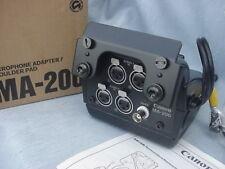 NEW Canon MA-200 Dual XLR Microphone Adapt./Shoulder Pad f. Canon XL1/XL1s