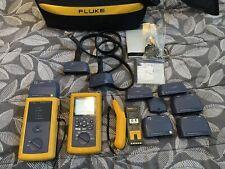 Fluke Dsp 4300 Cat6 Mm Fiber Gigabit Cable Certifier Extra Modules
