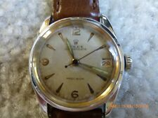 """1949 Rolex Oysterdate precision """"run"""" with new band and crystal"""