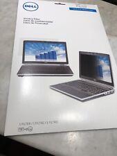 """NEW Dell 14"""" Widescreen Monitor Black Privacy Screen Filter"""