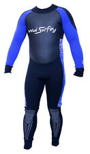 Maui Surfing Neoprene 3/2mm Blue Men's Wet Suit Kite Wakeboard Diving