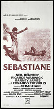 CINEMA-locandina SEBASTIANE l. treviglio, D. JARMAN'S