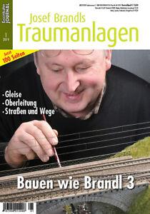 Eisenbahn Journal - Bauen wie Brandl - Teil 3 - Josef Brandls Traumanlagen 1/201