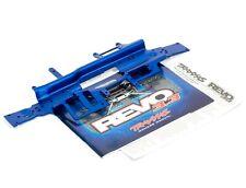 TRAXXAS REVO 3.3 1/10 Blue aluminium chassis plate + instructions manual 5322X