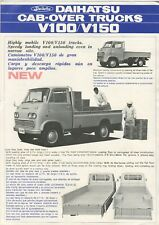 Daihatsu Cab-Over trucks V100/V150 brochure