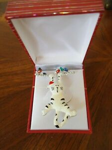 BRAND NEW HOLIDAY CAT PIN GIFT BOX INCLUDED FREE SHIPPING