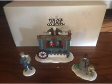 Dept 56 Heritage Village Series The Old Puppeteer 5802-5 Retired