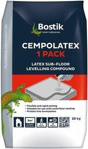 Bostik Levelling Compound 25kg Cempolatex Sub Floor Grey Rapid Set