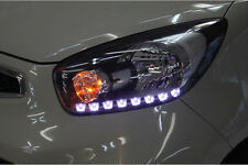 Front Head Light 2way Under Eyeline LED Module for Kia 11 12 13 2014 Picanto
