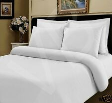 100 Egyptian Cotton Fitted Sheet White 400 Thread Count