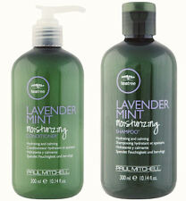 Paul Mitchell Lavender Mint Tea Tree Moisturizing  Shampoo And Conditioner Set
