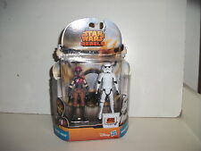 "star wars rebels mission series SABINE WREN & STORMTROOPER 3.75"" 2PACK, NEW"