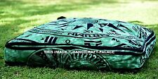 Cycle Of The Ages Square Floor Pillow Cover Indian Outdoor Ottoman Pouffe Cover