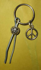 1 Classic Roach Clip With Key Ring, Free Rolling Papers, Fast Free Shipping. Usa