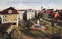 Bad Worishofen Bavaria Germany c1910 Postcard Sebastianeum Mit Kurhausgarten
