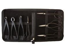 Bonsai-Werkzeug-Set Profi 8 teilig Japanqualität mit Tasche # HqB-225aT