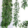 Artificial Rattan Willow Vine Garland Silk Greenery Leaves Home Wedding Décor