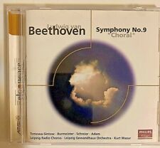 "Beethoven: Symphony No. 9 ""Choral"" CD 2000 Philips 0028946811221 VG"