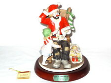Flambro Emmett Kelly Jr. Spirit Of Christmas Vii 7 #2246 limited hobo clown 9953