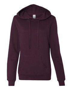 Independent Trading Co Juniors Heaven Fleece Lightweight Hooded Sweatshirt SS650