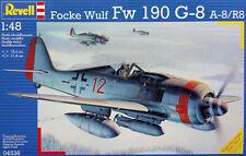 Revell 1:48 Focke Wulf Fw-190G-8 a-8/R8. German WW II Fighter. Kit.Nr. 04536
