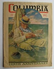 Columbia Magazine July 1931 Catholic Magazine Cover Art H.C. Millard