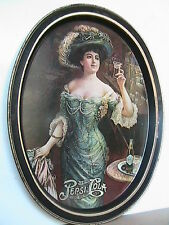 Pepsi Cola Tray with Gibson Girl