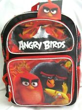 "ROVIO ANGRY BIRDS WHY SO ANGRY? 16"" BACKPACK-16"" ANGRY BIRDS MOVIE BACKPACK-NEW!"