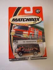 MATCHBOX #57 VW TRANSPORTER SPEEDY DELIVERY RICHIES PIZZERIA LOGO