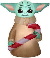 Star Wars The Child Mandalorian BABY YODA Inflatable Christmas Yard Airblown