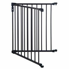 North States Superyard 3 In 1 Arched Decor Metal 2 Panel Extension Gate Bronze